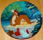 Disney Collector Plate Hello Little Prince Bambi Series