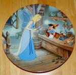 Disney Collector Plate Pinocchio Disney Treasured Moments Collection