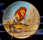 Disney Collector Plate Lion King The Circle Continues 1996 12th Issue