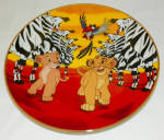 Disney Collector Plate Lion King I'm Gonna Be King 1995 4th Issue