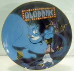 Disney Collector Plate Bradford Aladdin A Friend Like Me