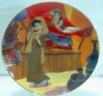 Disney Collector Plate Bradford Aladdin Aladdin In Love