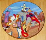 Disney Collector Plate Bradford Aladdin Make Way For Prince Ali