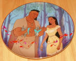 Disney Collector Plate Pocahontas Father's Love