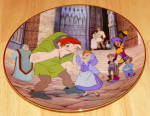 Disney Collector Plate 1996 Touched By Love Hunchback Of Notre Dame