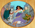 Disney Collector Plate Hunchback Of Notre Dame Dance Of Enchantment