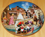Disney Collector Plate Pirates Of The Caribbean 1996 5th Issue