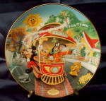 Disney Collector Plate Mickey's Toontown 4th Issue