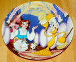 Disney Collector Plate Beauty And The Beast Beast Our Guest