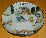 Collector Plate Knowles Bridget 5th Issue Heirlooms And Lace Series