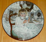 Collector Plate Knowles Rebecca Sixth Issue Heirlooms And Lace Series
