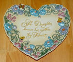 Collector Plate 2000 A Daughter Knows Her Mother By Heart