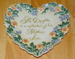 Collector Plate 2000 A Daughter Is A Reflection Of Her Mother's Love