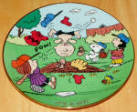 Collector Plate Peanuts Magical Moments It's A Hit
