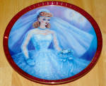 1990 Plate Barbie Bride To Be 1959 Series High Fashion Barbie