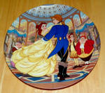 Disney Collector Plate Beauty And The Beast Spell Is Broken