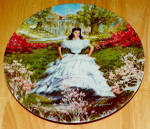 Gone With The Wind Collector Plate Scarlett 1st Issue