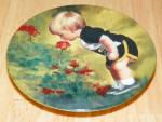 Collector Miniature Plate Donald Zolan Grandma's Garden