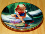 Collector Miniature Plate Donald Zolan Reflections 3rd Issue