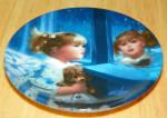 Collector Miniature Plate Donald Zolan Windows Of Dreams #1869c