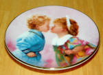 Collector Miniature Plate Donald Zolan Tender Hearts