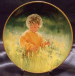 Collector Plate Donald Zolan Candlelight Magic