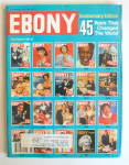 Ebony Magazine-november 1990-45 Years