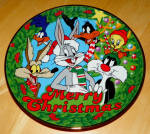 Collector Plate Looney Tunes The Looniest Christmas Ever