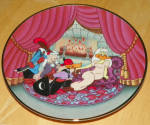 Collector Plate Looney Tunes Plate The Scarlet Pumpernickle