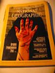 Vintage National Geographic Magazine October 1985