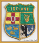 Ireland Provinces Shield Patch Coat Of Arms