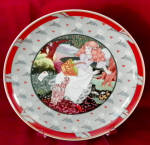 Collector Plate German Heinrich A Tisket , A Tasket