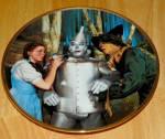 Collector Plate Wizard Of Oz Commemorativethe Tin Man Speaks