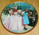 Collector Plate Wizard Of Oz Commemorative A Glimpse Of The Munchkins