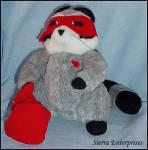 Hallmark Love Bandit Raccoon Plush Stuffed Animal