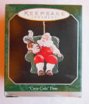 Coca Cola Time Santa 1998 Miniature Christmas Ha