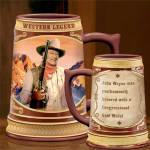 John Wayne Stein Cheers To A Legend Collection - Western Legend
