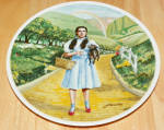 Collector Plate Wizard Of Oz Collection Series Over The Rainbow