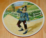 Collector Plate Wizard Of Oz Collection Series If I Only Had A Brain