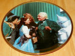 Collector Plate Wizard Of Oz Commemorativethe Great And Powerful Oz