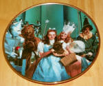 Collector Plate Wizard Of Oz Commemorative There's No Place Like Home