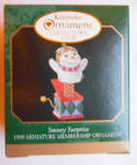 Snowy Surprise 1999 Miniature Christmas Ornament
