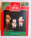 Harmony Trio 1992 Hallmark Keepsake Ornament Qxm5471