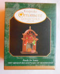 Ready For Santa 1997 Miniature Christmas Hallmark