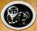 Collector Plate Kitten's World By Droguett Just Curious Ltd Ed 1979