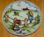 West Germany 2 Monthly Collector Plate Dekor-shop Walter May 1966