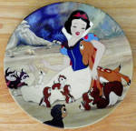 Disney Collector Plate Knowles With A Smile And A Song