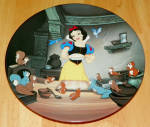 Disney Collector Plate Knowles Snow White Seven Dwarfs A Special Treat