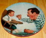 Collector Plate A Father's Love Collection Series Open Wide