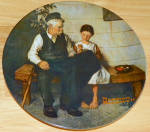 Collector Plate The Lighthouse Keeper's Daughter Rockwell